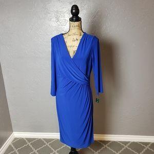 Lauren Ralph Lauren Surplice Dress